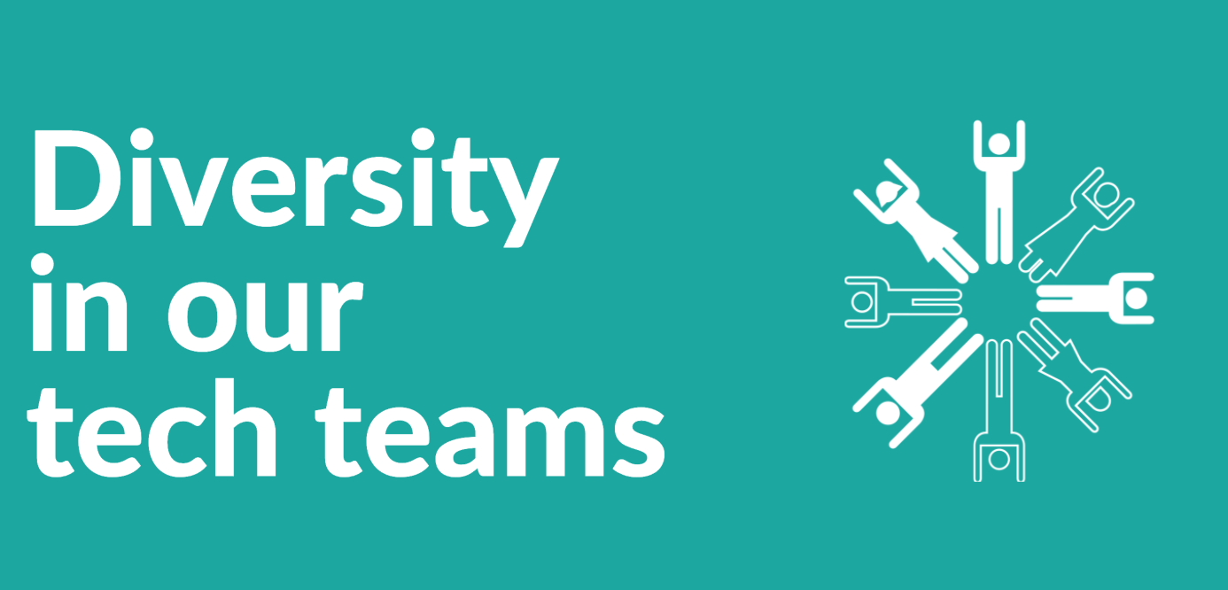 Diversity in our tech teams